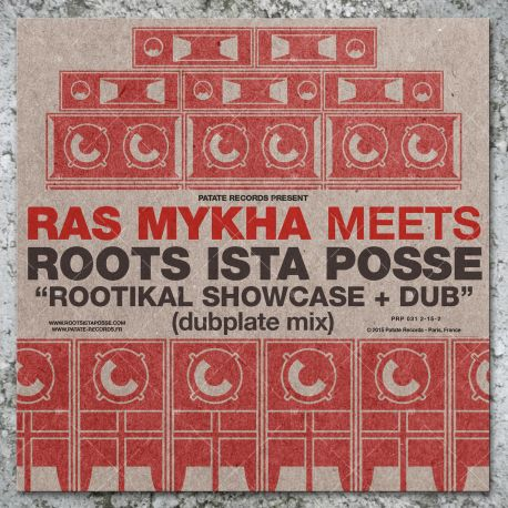 Ras Mykha Meets Roots Ista Posse - Rootikal Showcase (LP)