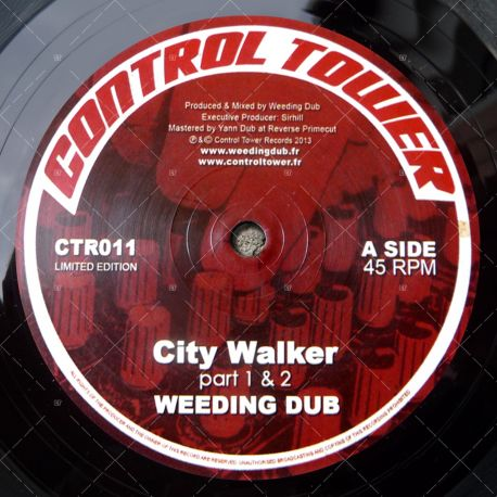 "CTR011 - Weeding Dub - City Walker (12"")"