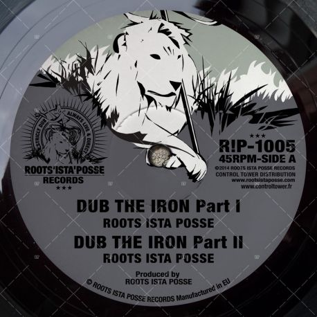 "R!P1005 Roots Ista Posse - Dub The Iron (10"")"