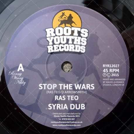 Ras Teo meets I-David - Stop The Wars