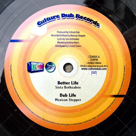 "CDR005 Culture Dub Records (10"")"