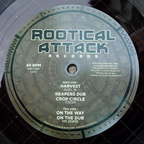 """RAR12-005 Rootical Attack Records (12"""")"""