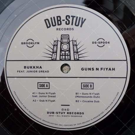 Bukkha feat. Junior Dread - Guns N Fiyah