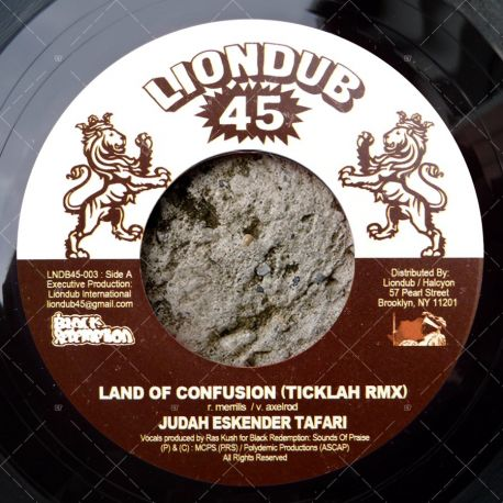 Judah Eskender Tafari - Land Of Confusion (Ticklah Remix)