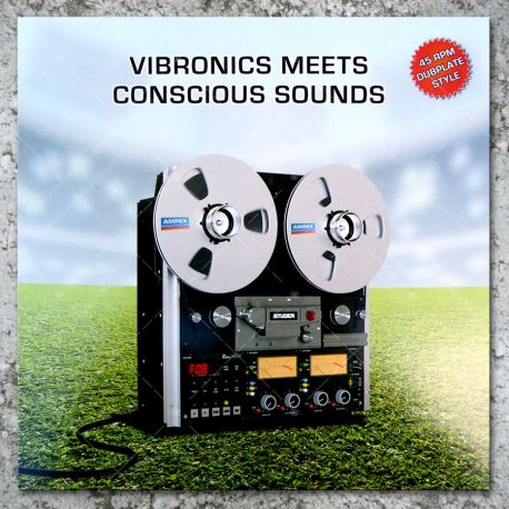 Vibronics meets Conscious Sounds ‎- Blaze A Fire