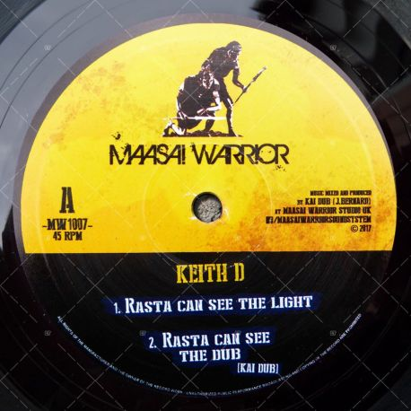 Keith D - Rasta Can See The Light