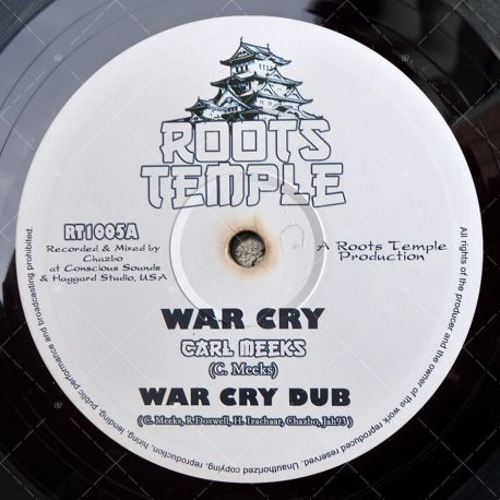 Carl Meeks - War Cry