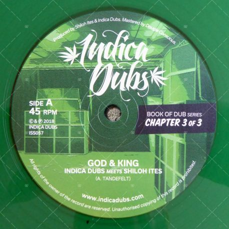 Indica Dubs meets Shiloh Ites - God & King