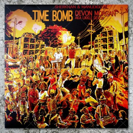 Devon Morgan aka Likkle Devon - Time Bomb