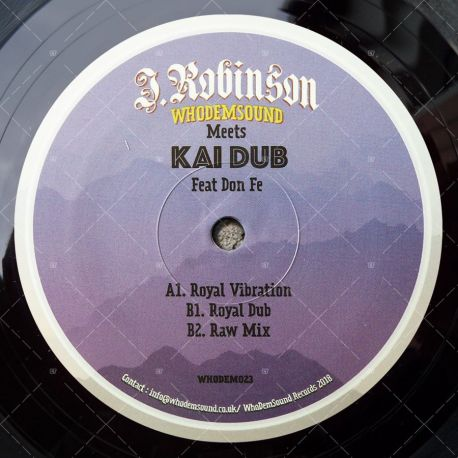 J. Robinson meets Kai Dub feat. Don Fe - Royal Vibration