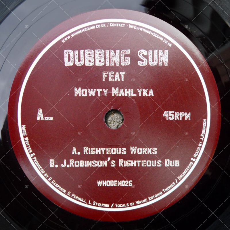 Dubbing Sun feat  Mowty Mahlyka - Righteous Works