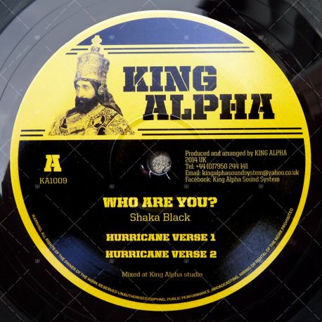 Shaka Black - Who Are You?