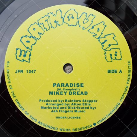 Mikey Dread - Paradise