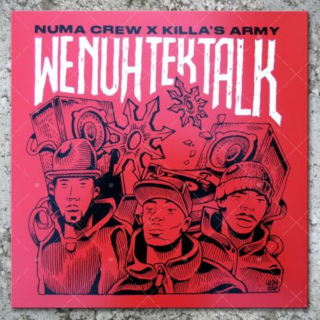 Numa Crew & Killa's Army - We Nuh Tek Talk