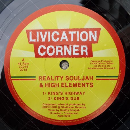 Reality Souljah & High Elements - King's Highway