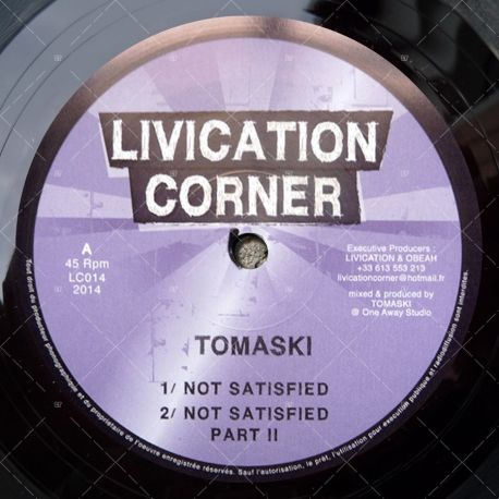 Tomaski - Not Satisfied