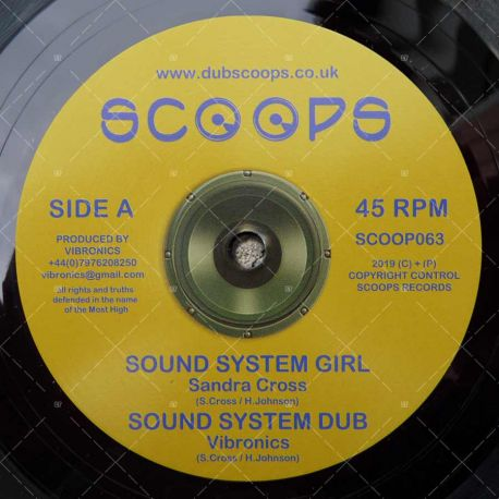 Sandra Cross - Sound System Girl