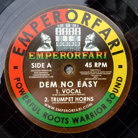 R. Zee Jackson & Mighty Prophet - Dem No Easy
