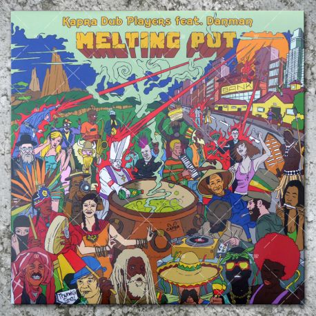 Kapra Dub Players feat. Danman - Melting Pot