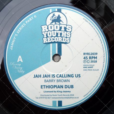 Barry Brown - Jah Jah Is Calling Us