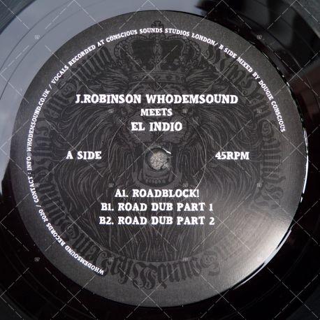 J. Robinson meets El Indio - Roadblock