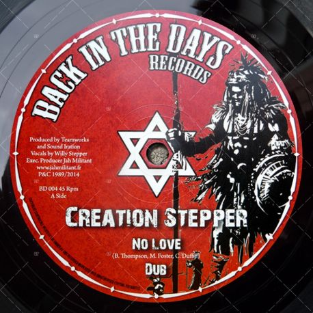Creation Stepper - No Love