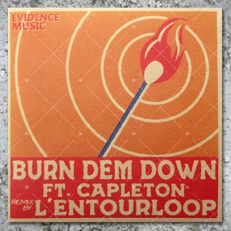 L'Entourloop feat. Capleton - Burn Dem Down