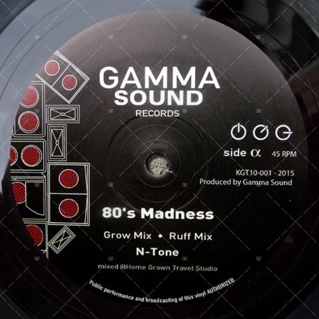 N-Tone - 80's Madness - Grow Mix