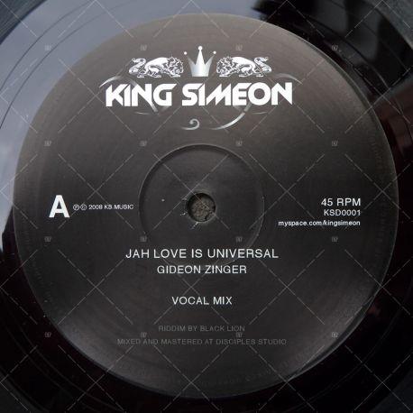 Gideon Zinger - Jah Love Is Universal