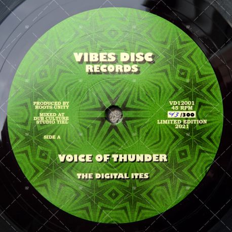 The Digital-Ites - Voice Of Thunder
