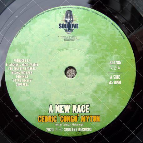 Cedric 'Congo' Myton - A New Race