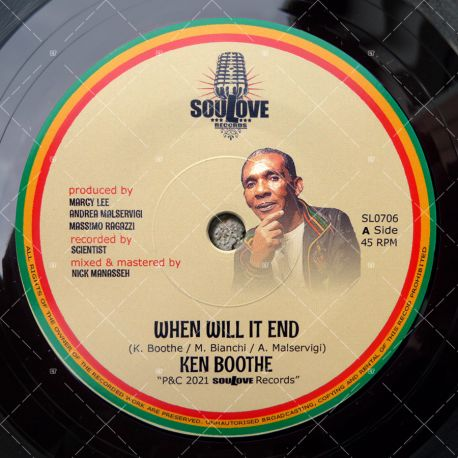 Ken Boothe - When Will It End
